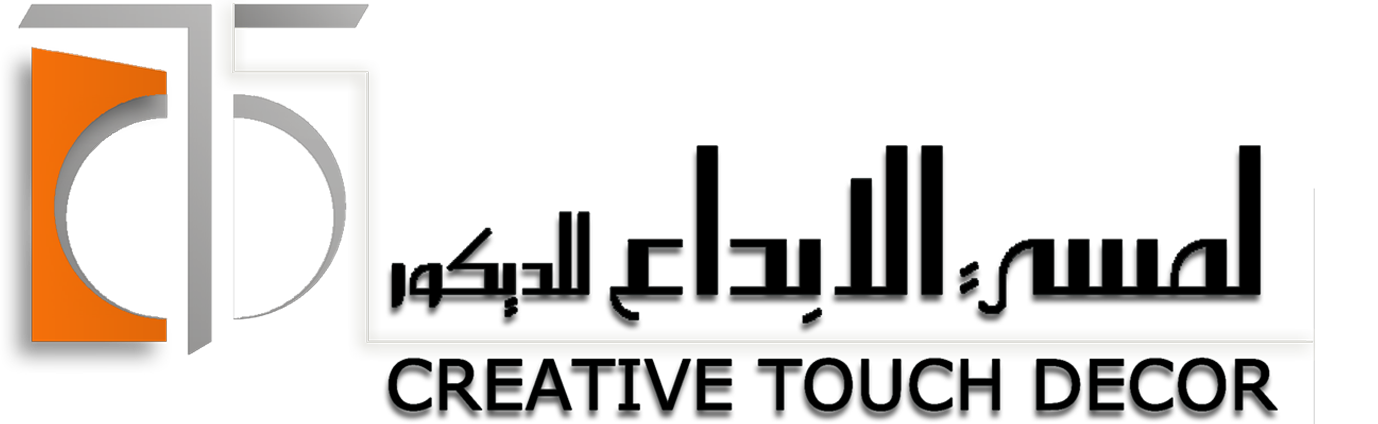 Creative touch decor for Interior design logo images